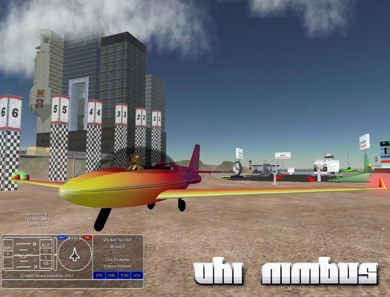 VHI Nimbus aerobatic general aviation jet.