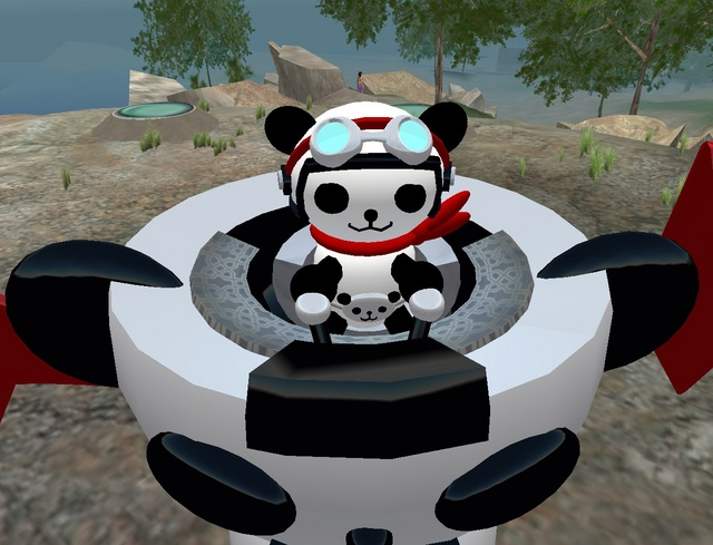 Yari Yossarian (Panda Z detail)